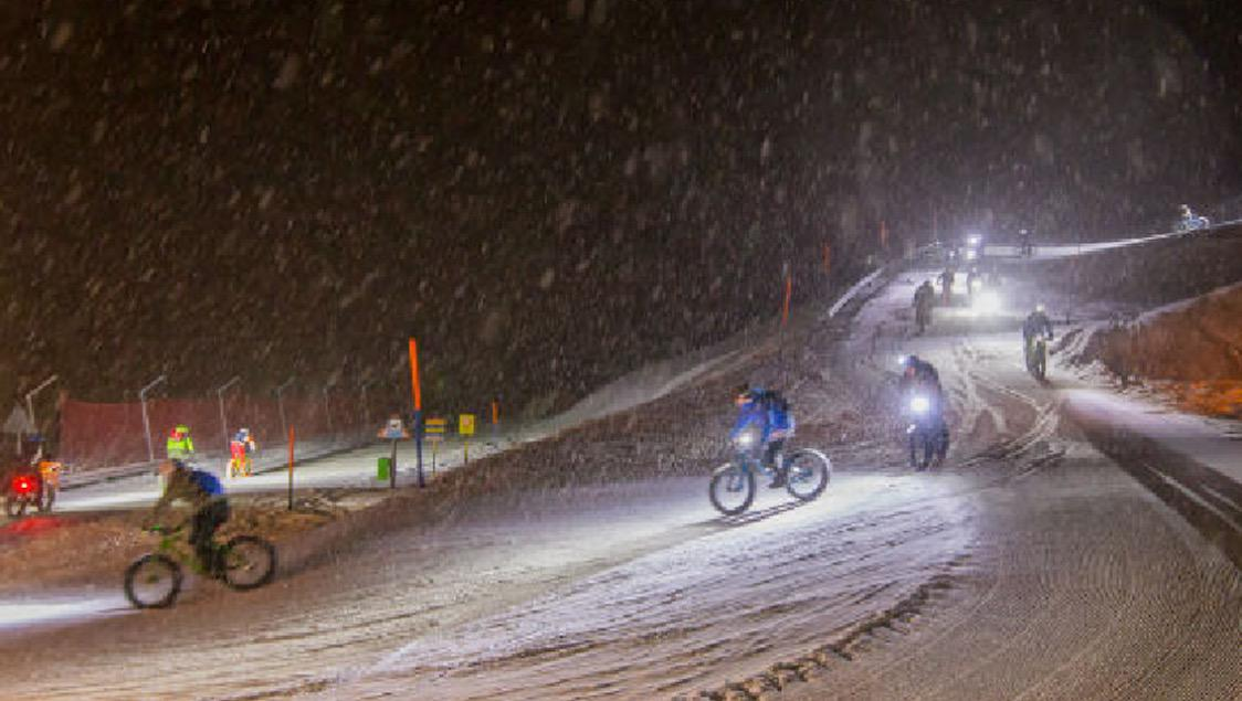 FatBike-Event by Night in der Region Andermatt