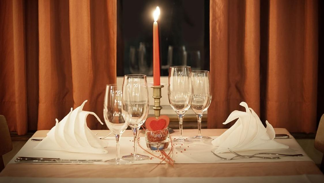 Valentinstag Candle Light Dinner am Bodensee