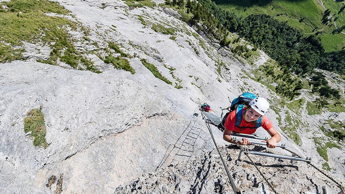 Klettersteig Engelberg : Rock safety days engelberg region unterwalden