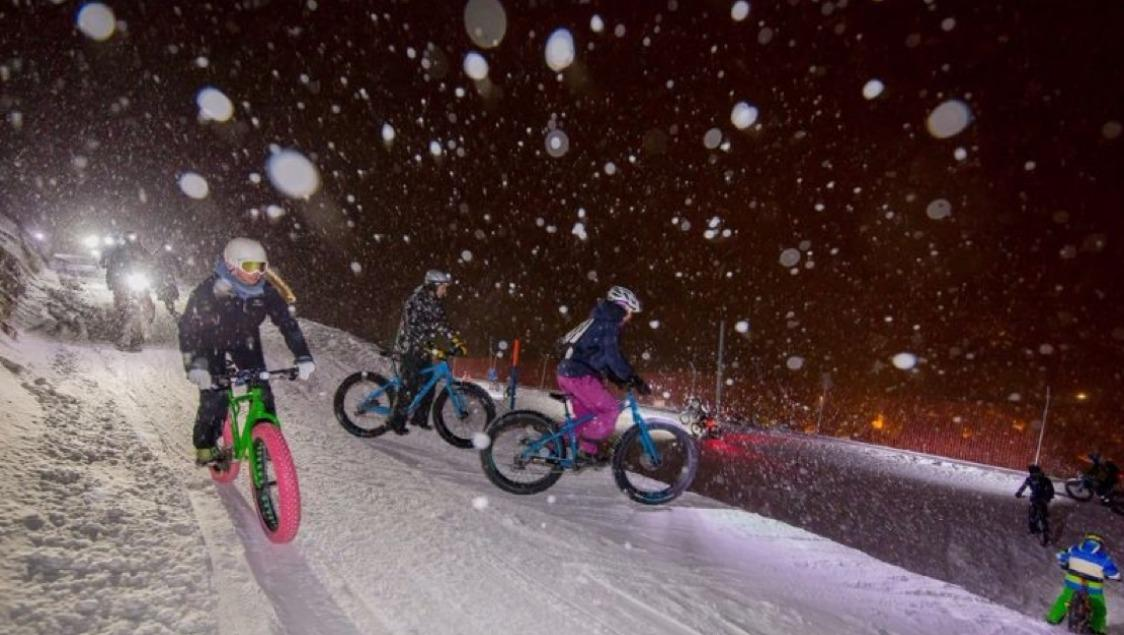 Fatbike-Event by Night