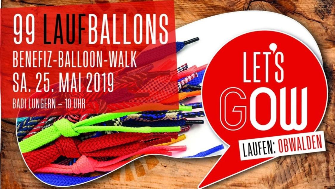 99 Laufballons - Der Benefiz-Balloon-Walk