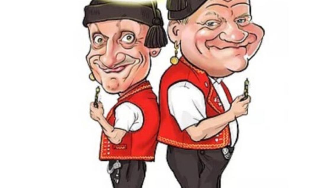 Comedy-Duo Messer & Gabel - selbertschold?!