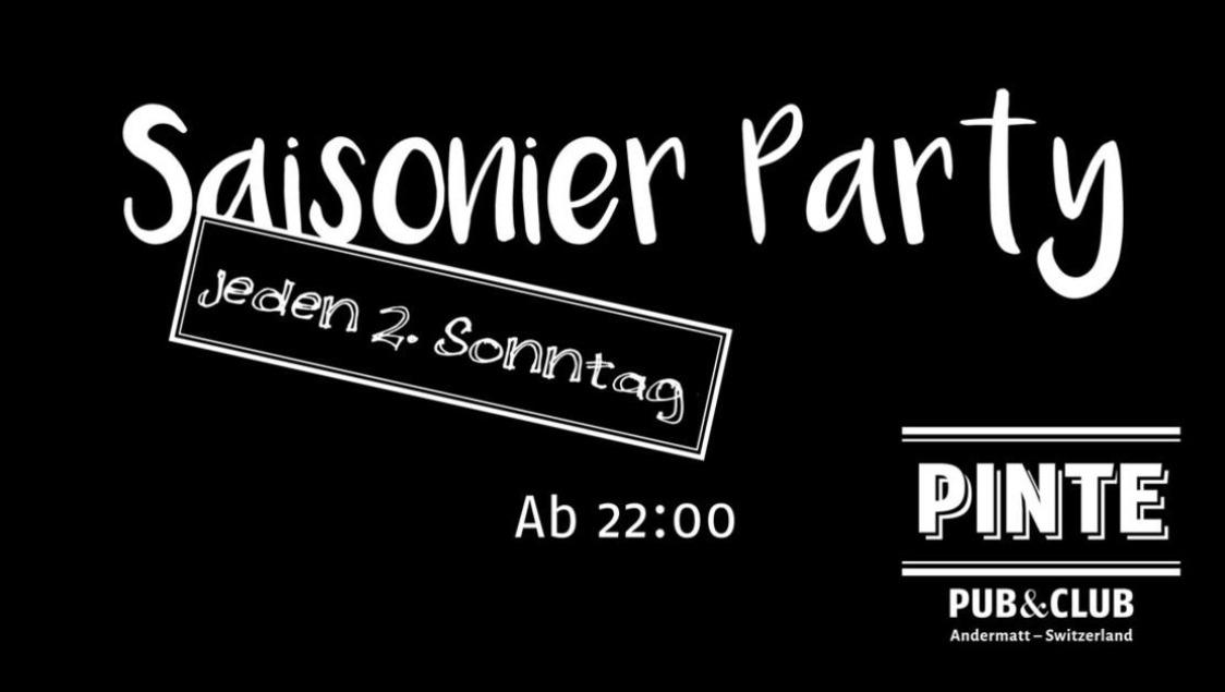 Saisonnier/e Party